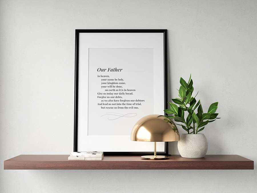Our Father Prayer Product Image
